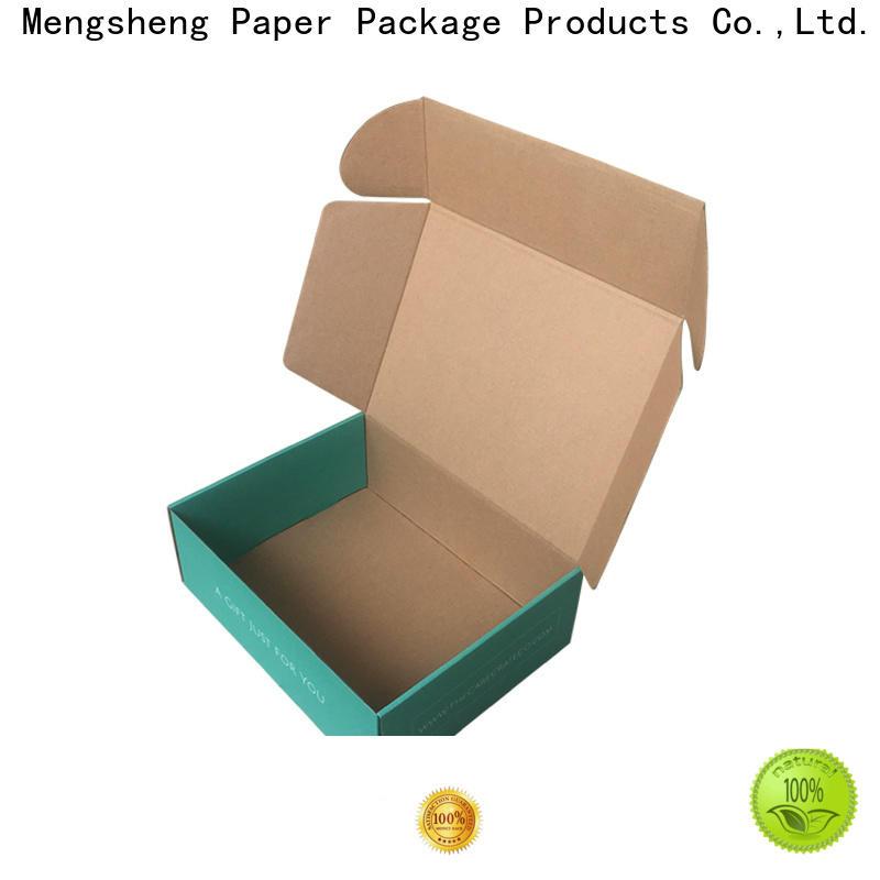 Mengsheng strong custom mailer boxes convenient