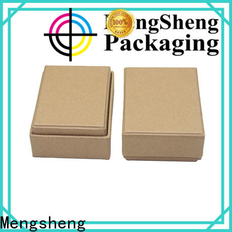 Mengsheng ecofriendly 2 piece box special chocolate packing