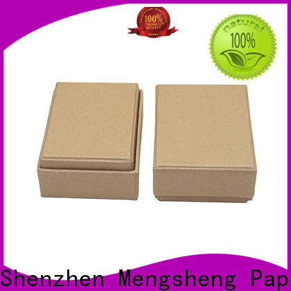 Mengsheng perfume cosmetic box cheapest price bulk producion