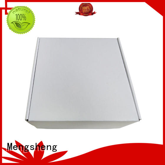 Mengsheng corrugated paper shirt box corrugated cardboard