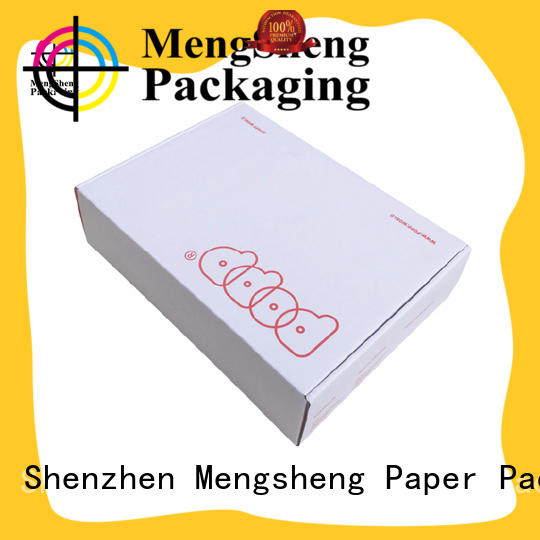 Mengsheng customized apparel gift boxes