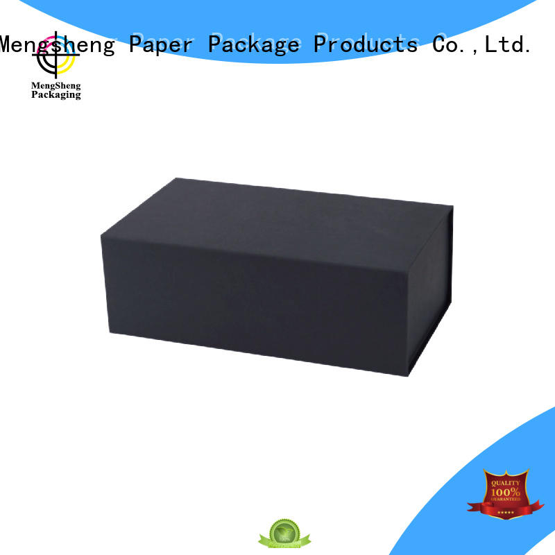 small folding gift boxes luxury for florist Mengsheng