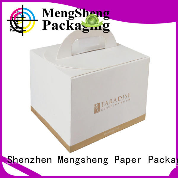 insert custom cake boxes colours at discount Mengsheng