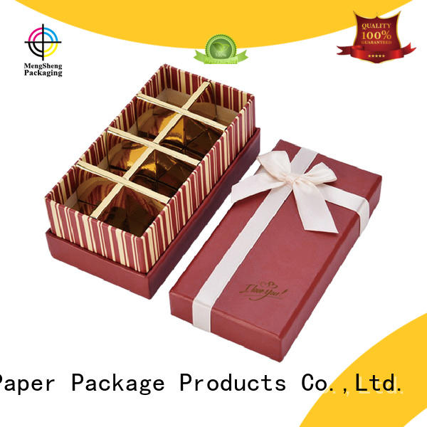 wholesale chocolate boxes wholesale natural kraft paper for storage Mengsheng