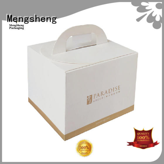full color paper cake box colors ecofriendly for wholesale