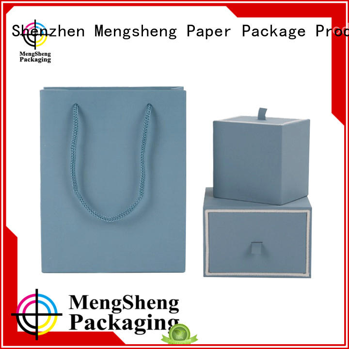 jewelry gift boxes lid Bulk Buy paper Mengsheng