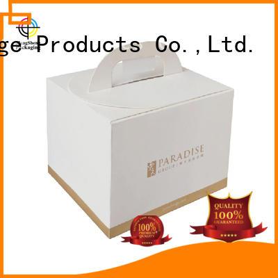 custom cake boxes single for wholesale Mengsheng
