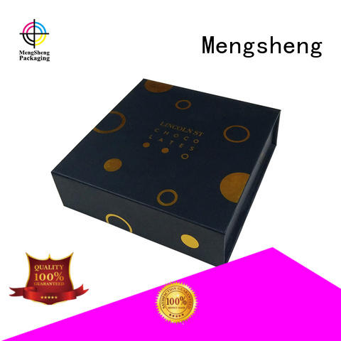 orange book magnetic gift boxes wholesale Mengsheng manufacture