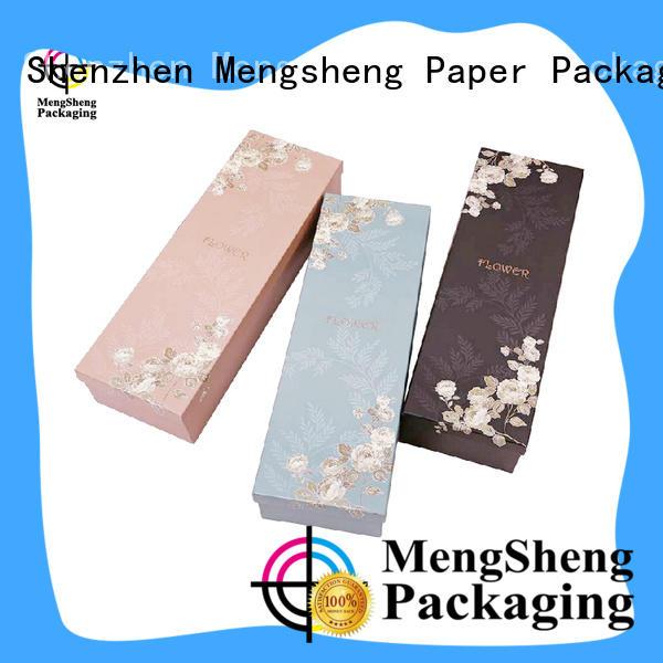 rose flower box free sample for delivery Mengsheng
