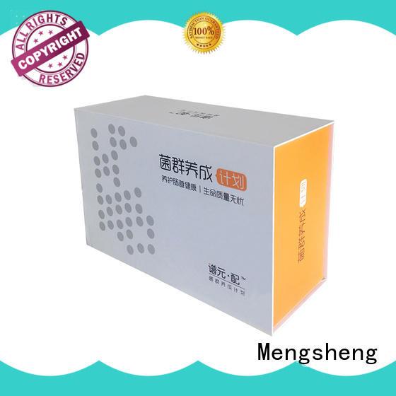 Mengsheng new magnetic safe box corrugated for christmas gift