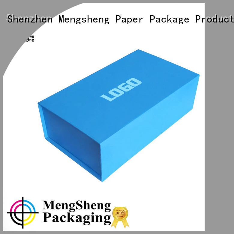 Mengsheng waterproof folding boxes easy closure for florist