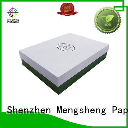 paper gifts quality lidded cardboard boxes tray Mengsheng