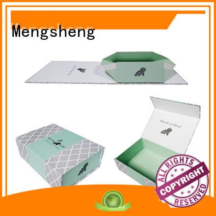 hot-sale foldable cardboard boxes logo printed garment packing