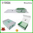 Mengsheng luxury fold paper box with lid shipping clothing for florist