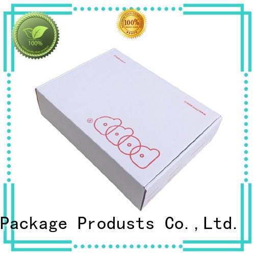 garment corrugated cloth box white Mengsheng