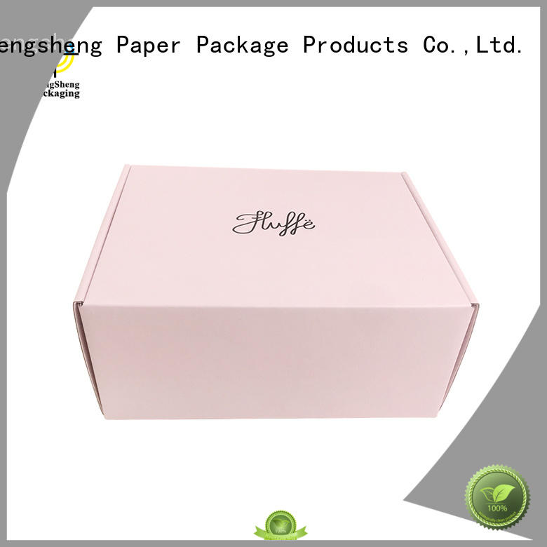 Mengsheng strong branded shipping boxes printed cardboard eco friendly