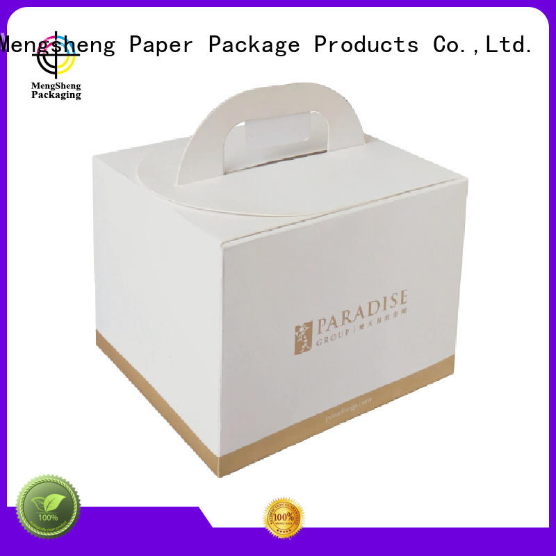 Mengsheng removable cake slice boxes reversible at discount