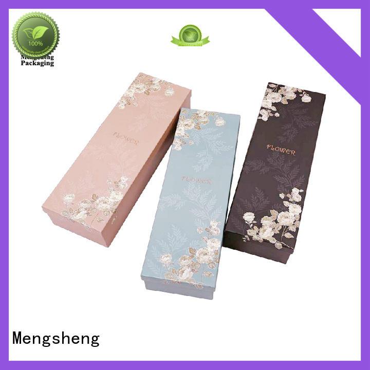 flower gift box made for shipping Mengsheng
