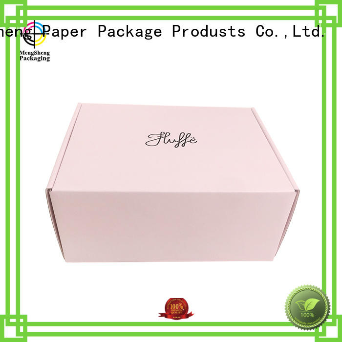 Quality Mengsheng Brand shipping boxes for sale gift top
