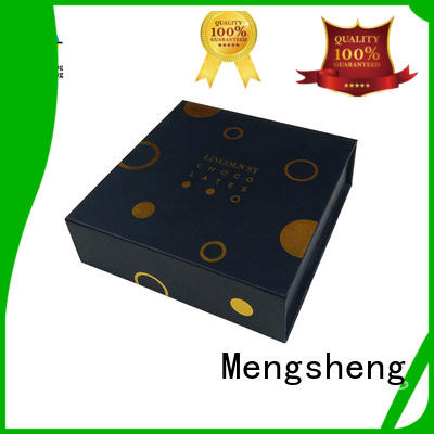 magnetic closure gift box latest with lid Mengsheng