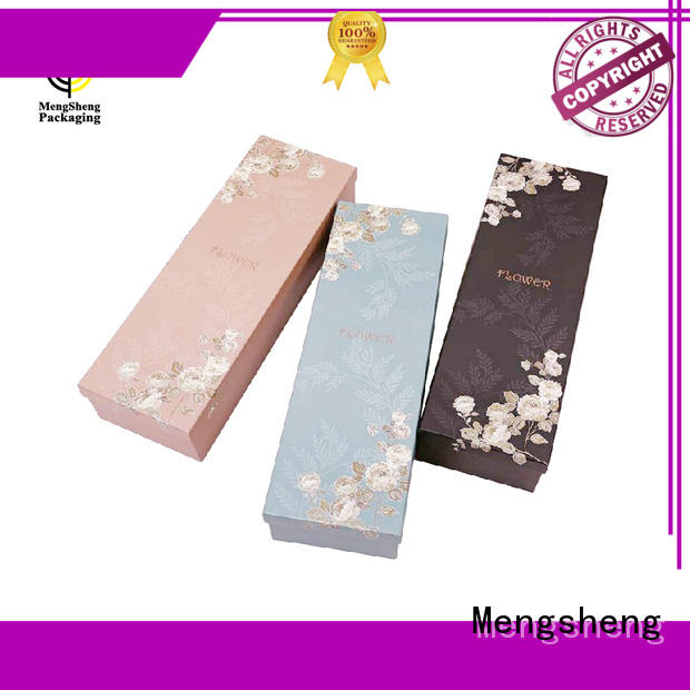 Mengsheng on-sale rose bouquet box free sample for packaging