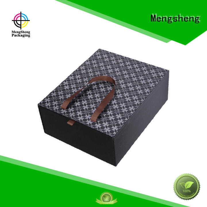 magnetic closure red gift box removable at discount