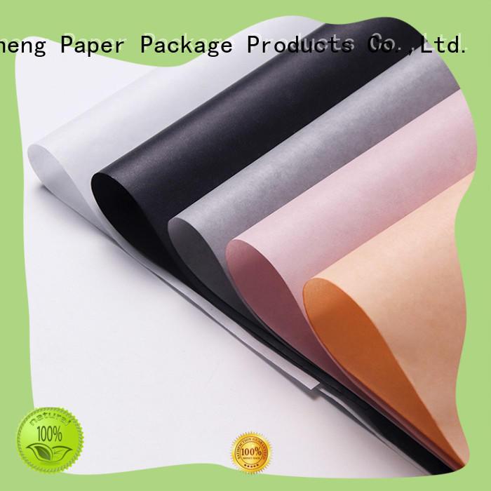 logo printing red tissue paper brown kraft paper free sample