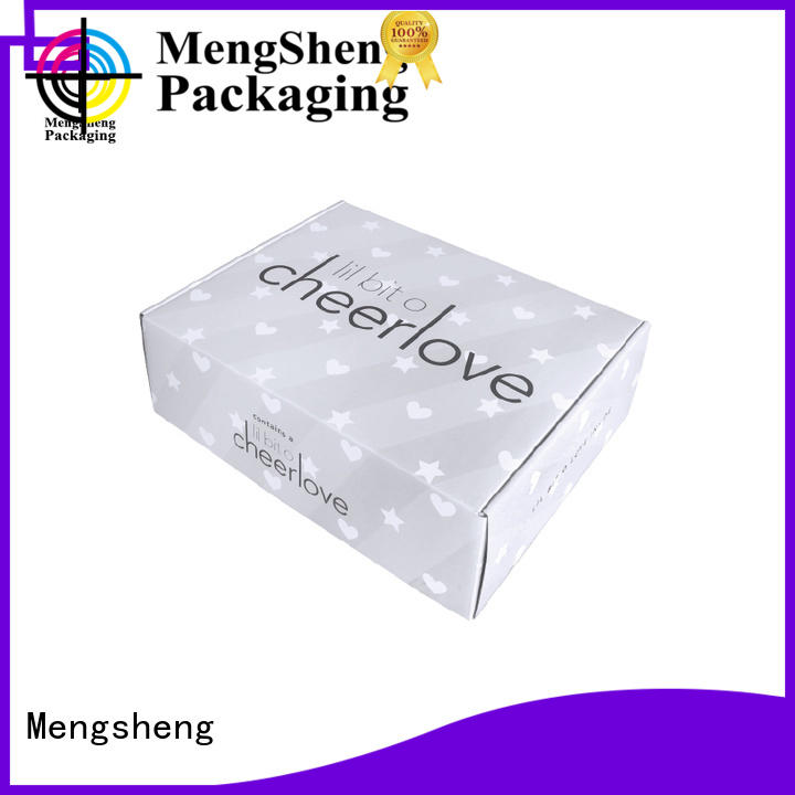 Mengsheng strong cheap corrugated boxes custom design