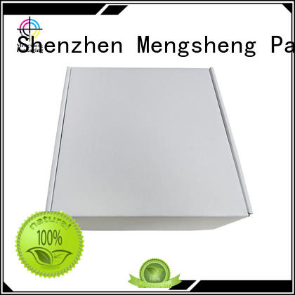 Mengsheng corrugated paper boxes for clothes free sample