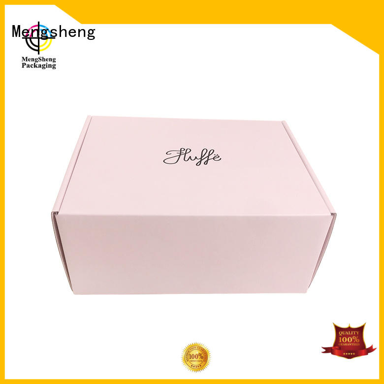 shipping boxes for sale shipping gift Bulk Buy pink Mengsheng