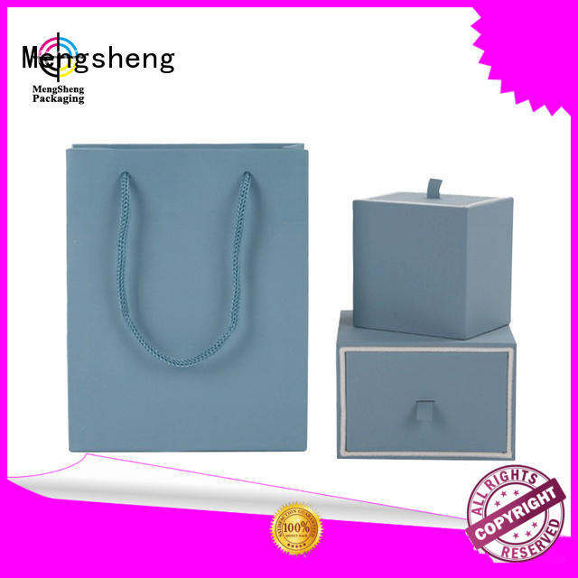 metallic gift boxes wholesale lid custom design Mengsheng