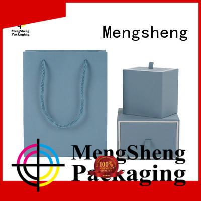 Mengsheng kraft bracelet box shoes packing convenient