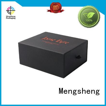 Mengsheng foam packaging kraft drawer box with ribbon free sample