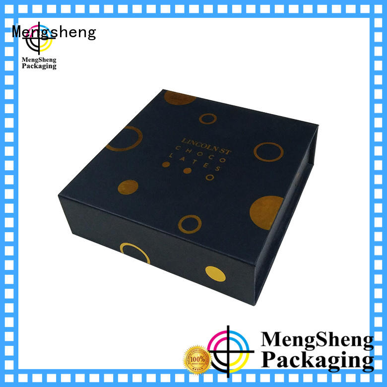 Mengsheng hot-sale white magnetic box corrugated for christmas gift