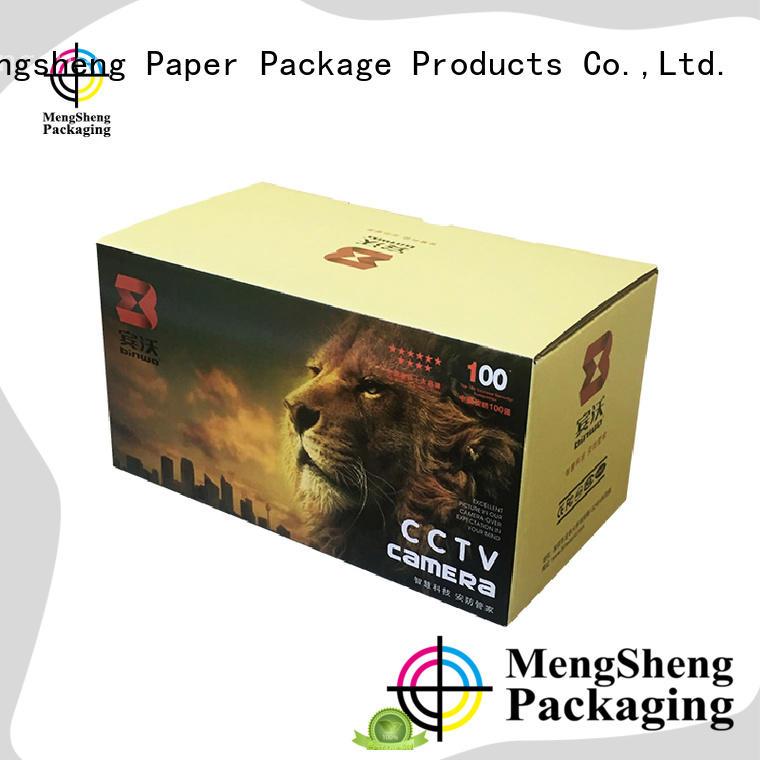 Mengsheng hot-sale cardboard lunch box easy closure swimwear packing