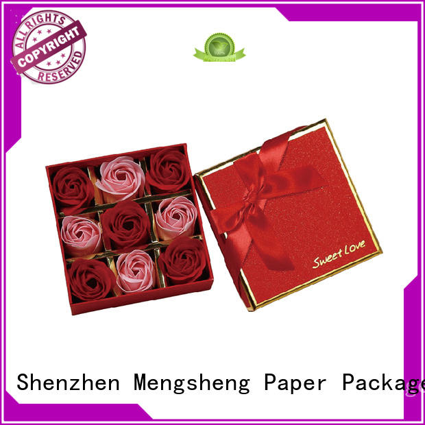 Mengsheng on-sale flower gift box free sample for delivery