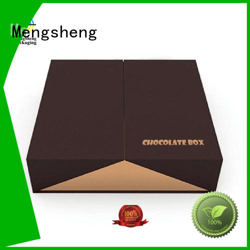Mengsheng gift fudge boxes free sample for storage