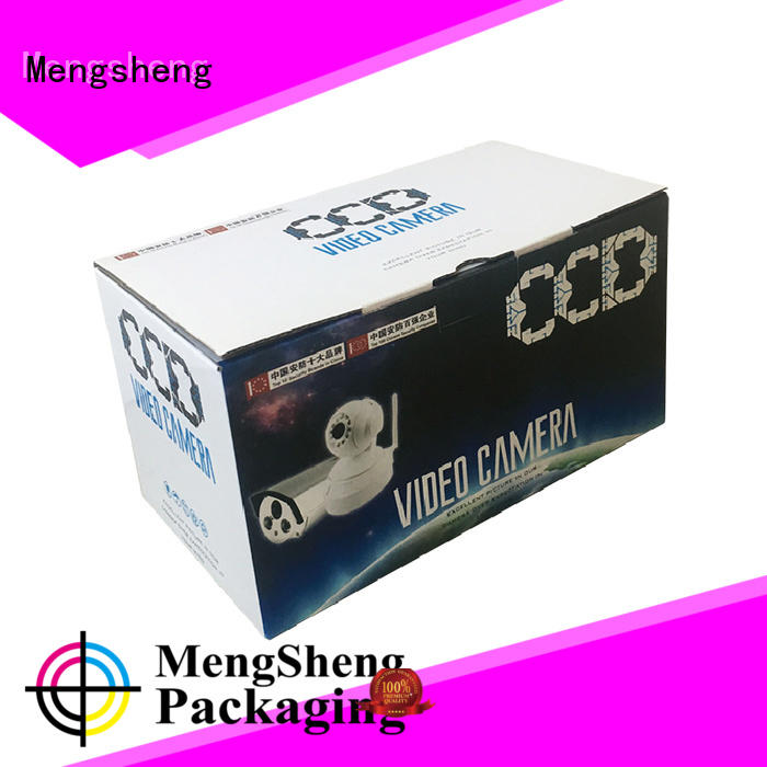 Wholesale camera electronics shipping box Mengsheng Brand