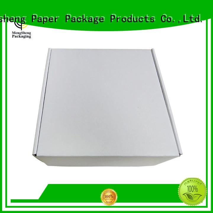 apparel shipping boxes clothing box ectronics packing Mengsheng
