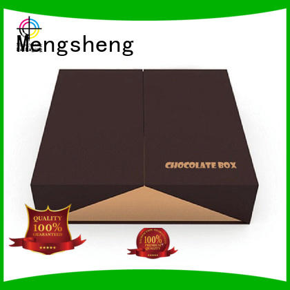 Mengsheng wholesale chocolate gift boxes packaging peel for sale