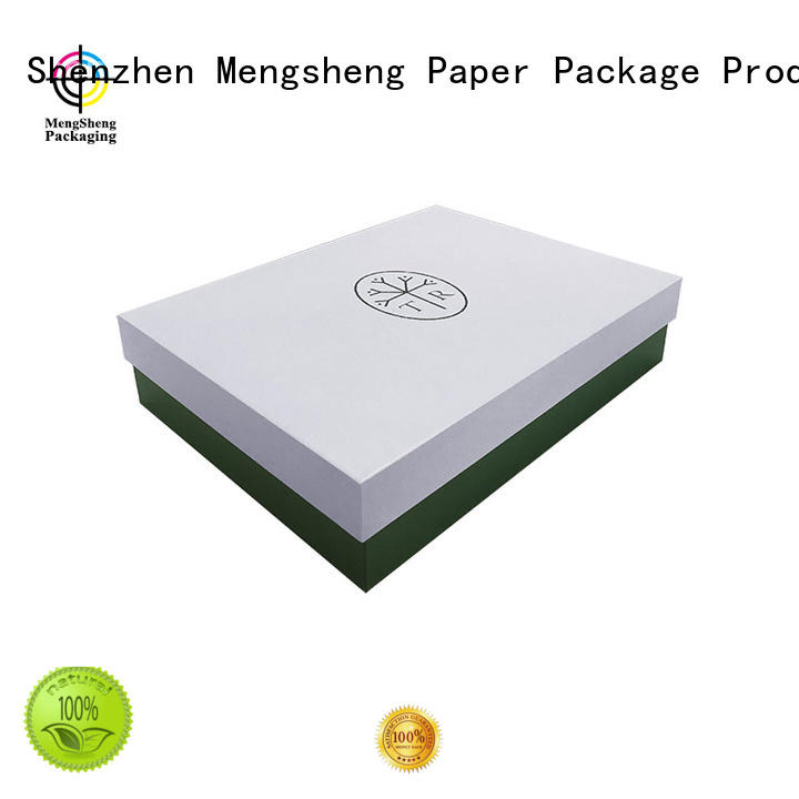 Mengsheng sturdy lidded cardboard boxes luxury for wholesale