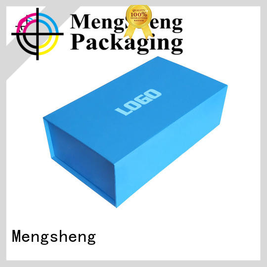 Mengsheng folding folding boxes easy closure garment packing