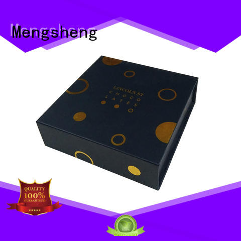 Hot magnetic gift boxes wholesale size Mengsheng Brand