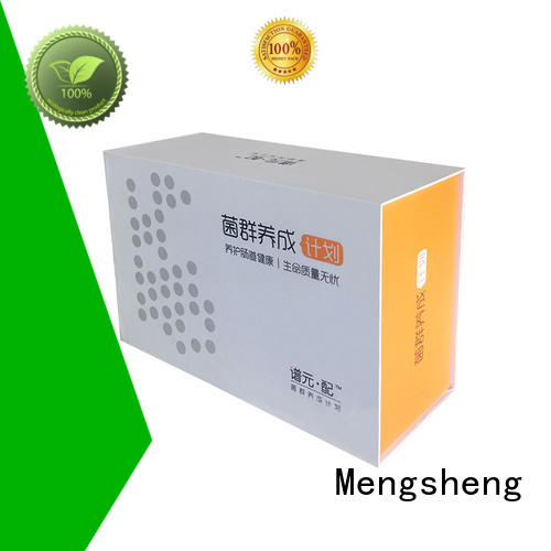 Mengsheng Brand size customized magnetic gift boxes wholesale foam supplier