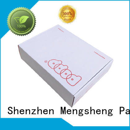 Mengsheng apparel shipping underwear gift box oliver oil displaying ectronics packing