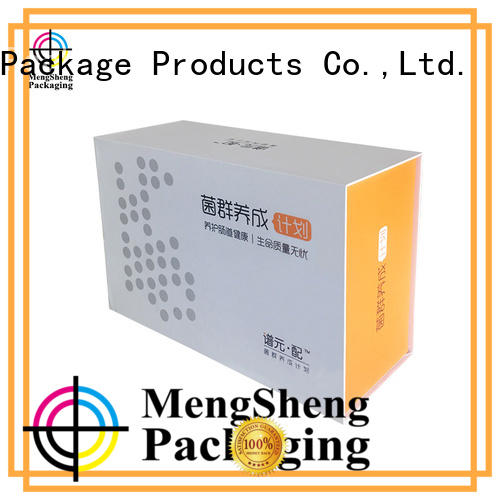 Mengsheng latest magnetic safe box corrugated with lid