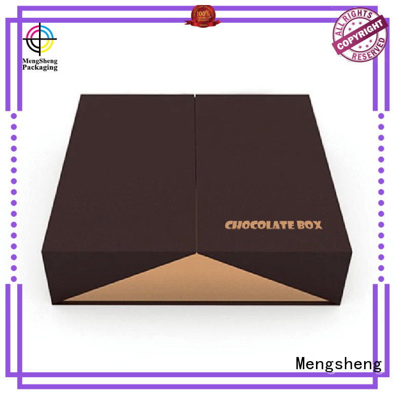 Mengsheng luxury empty sweet boxes waterproof for packing