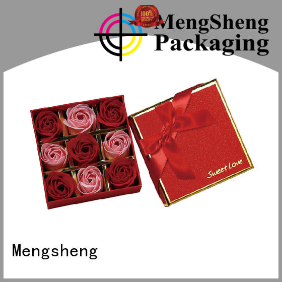 packing gift professional flower gift box Mengsheng Brand company