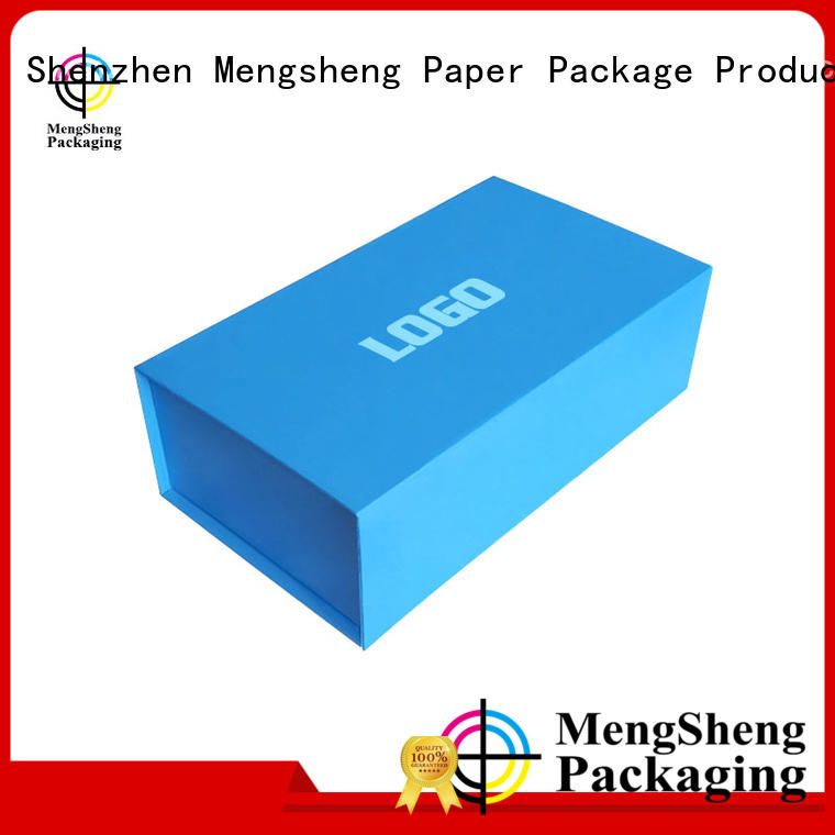 folding foldable gift boxes waterproof for florist Mengsheng