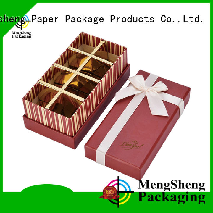 Mengsheng food custom candy boxes free sample for packing